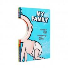 Funny Faces 面具书4册套装点读版