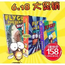 [6月特价]Fly Guy苍蝇小子系列最全合辑点读版