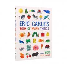 [特价]点读版Eric Carle's book of many things艾瑞卡尔的词典