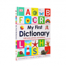 [特价]点读版DK出品My First Dictionary我的第一本字典
