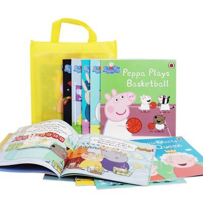 【点读版】粉红猪小妹Peppa Yellow Bag 粉猪黄袋10册套装