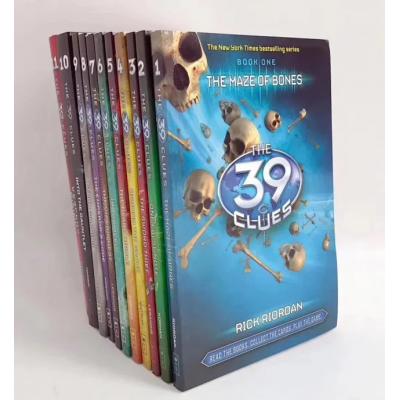 39条线索 The 39 Clues 11册(侦探推理历险送音频)