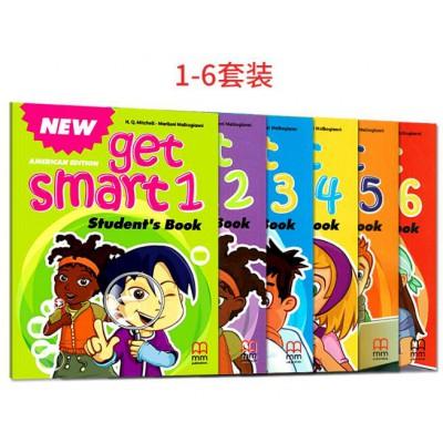 美国小学英语教材新get smart 1-6级点读版