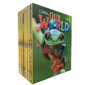 美国国家地理教材Our World14册点读版(第一版)