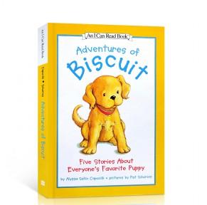 小饼干故事合集Adventures of Biscuit 进口故事书