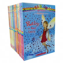 彩虹仙子21本 Rainbow Magic The Rainbow Fairies
