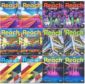 新版美国Reach教材Reach higher 1-6级24册