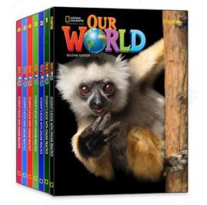 特价:美国国家地理教材Our World14册点读版(第二版)