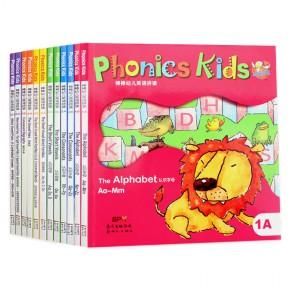 棒棒幼儿英语拼读 Phonics Kids 1-6全套12册点读版(无盒无光盘)